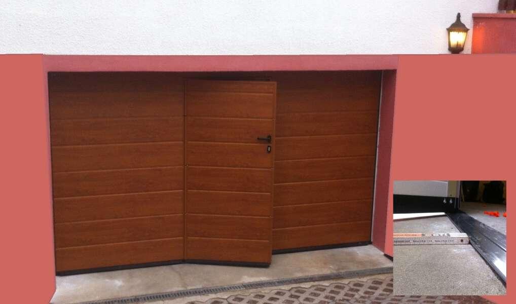 Garagentor mit integrierter tür  Referenzen: Tore - fensterladen-hinkelmann.de